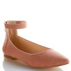 CATO Misty Rose Ankle Strap Flats Size 10 NWT